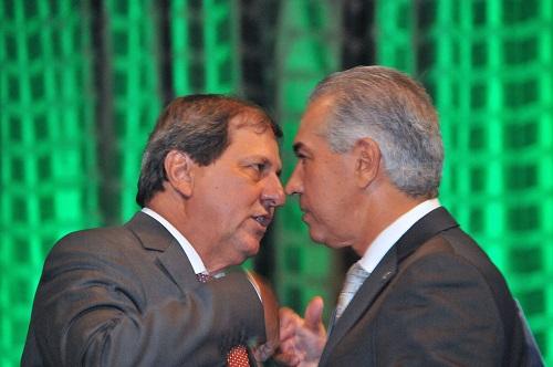 Sérgio de Paula é o presidente do partido e Reinaldo Azambuja é a maior liderança - Foto: Álvaro Rezende