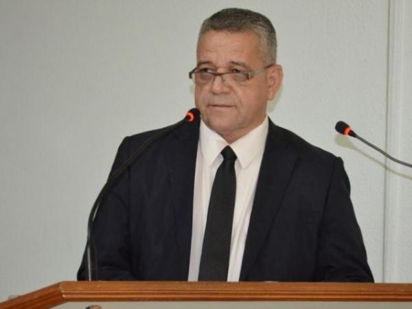 Ódes da Silva (PP) ainda cumpre mandato na Câmara de Vereadores de Coxim (Foto: Divulgação/Câmara Municipal de Coxim)