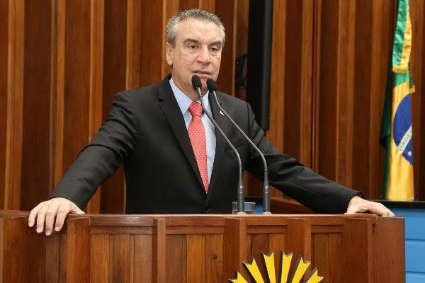 Presidente da Assembleia Legislativa de MS, deputado Paulo Corrêa
