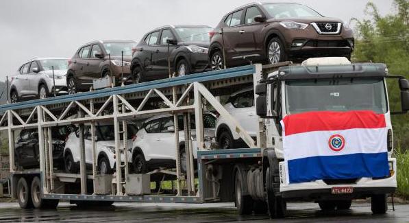 Exportação de veículos brasileiros para o Paraguai - ARQUIVO