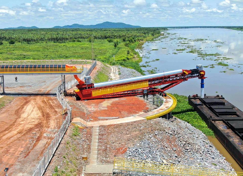 Portos de Murtinho devem ampliar a capacidade de escoamento de grãos neste ano. (Porto Murtinho Notícias/Toninho Ruiz)