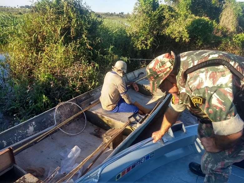 Somente a modalidade pesque e solte está autorizada na calha do Rio Paraguai. (Divulgação)