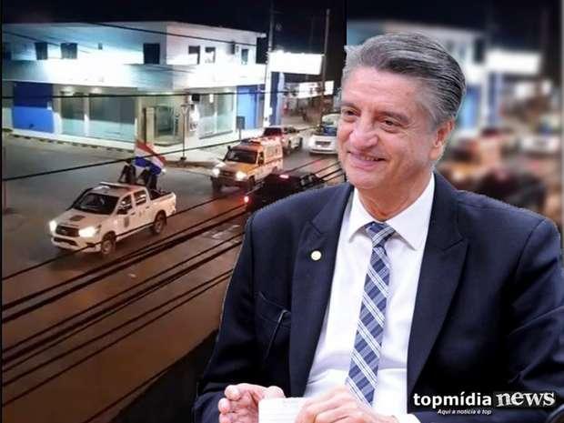 Deputado cobra fechamento da fronteira em MS e diz que paraguaios lotam unidades de saúde brasileira