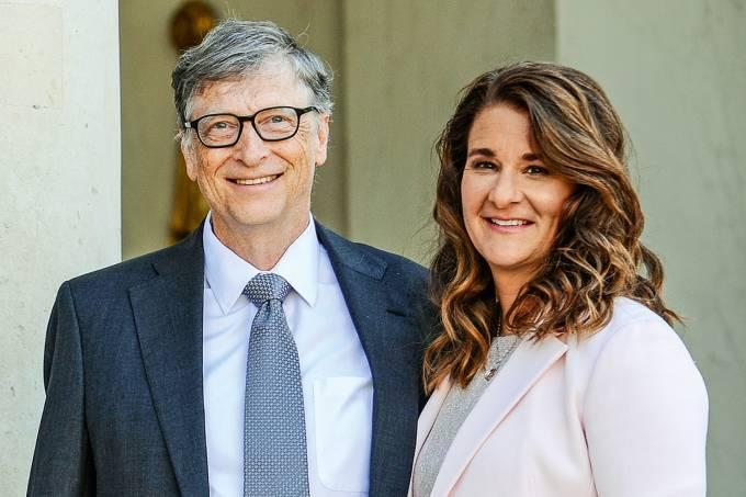 Fundação Bill e Melinda Gates investiu cerca de 500 milhões de reais em pesquisas para conter pandemia. Frederic Stevens/Getty Images