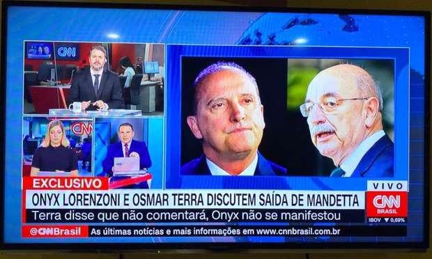 Osmar Terra e Ônix Lorenzoni são flagrados tramando saída de Mandetta
