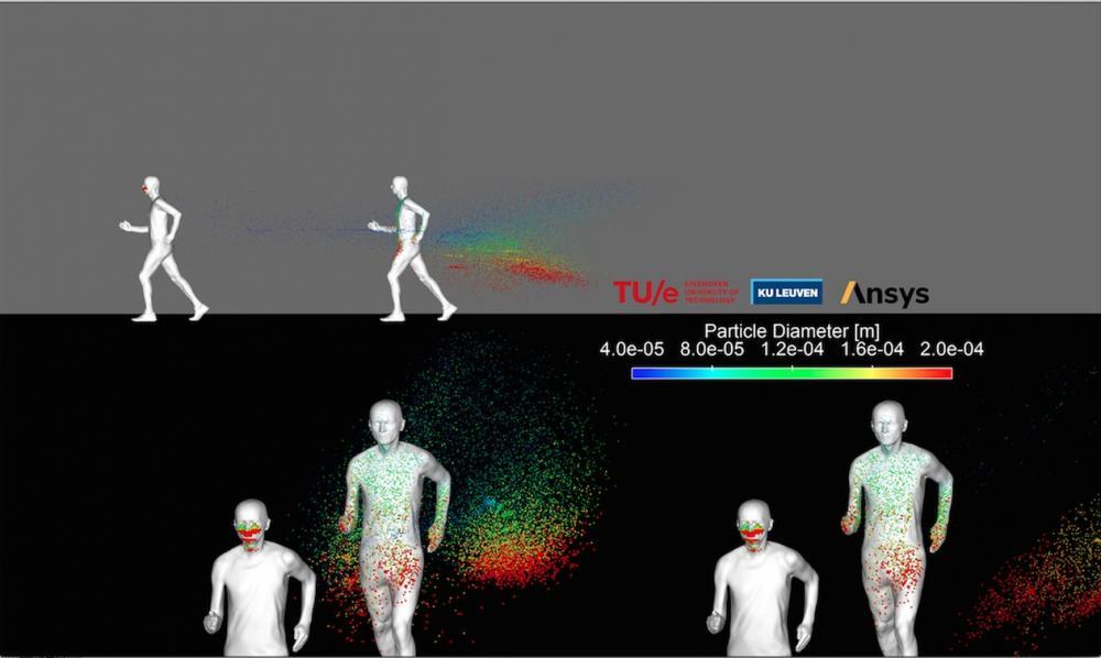 Quem pratica esporte ao ar livre espalha gotículas por até 20 m, diz estudo