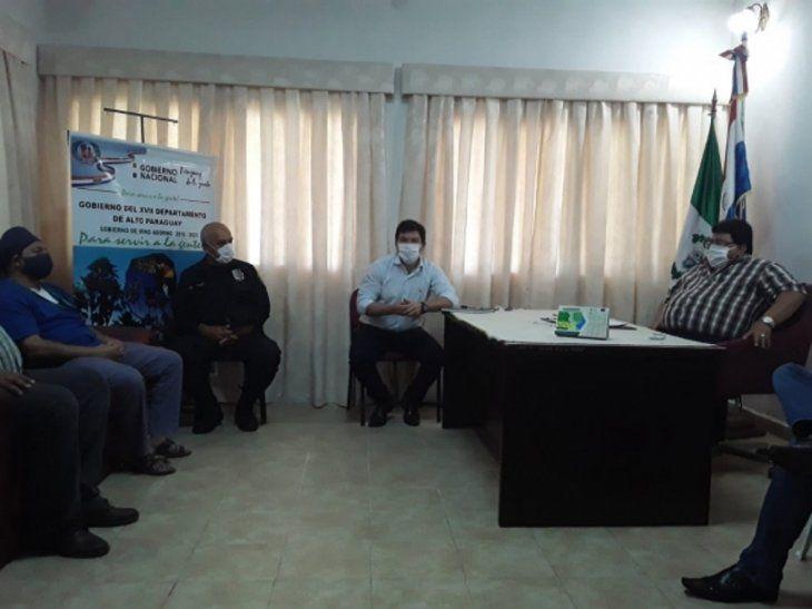 Governo do Paraguai acompanha medidas adotadas no combate ao Coronavírus no Alto Paraguai