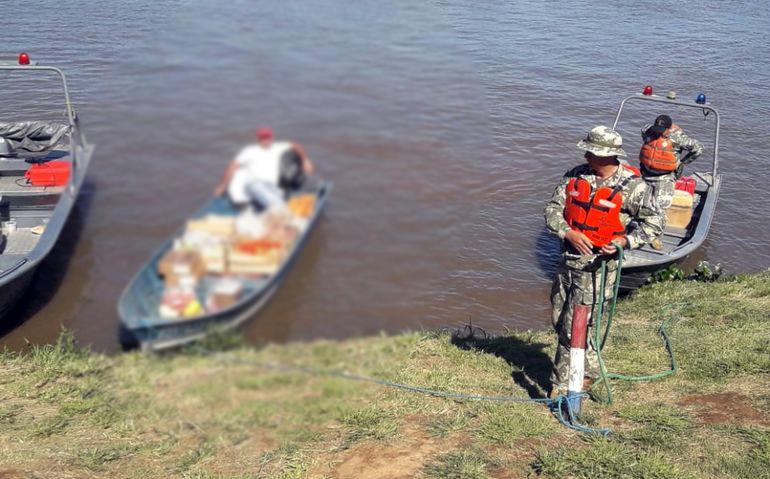 Marinha Paraguaia faz controle intensivo no Rio Paraguai na prevenção do Coronavírus