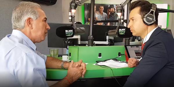 VÍDEO: Reinaldo Azambuja comenta sobre cota zero para pesca na radio Blink 102