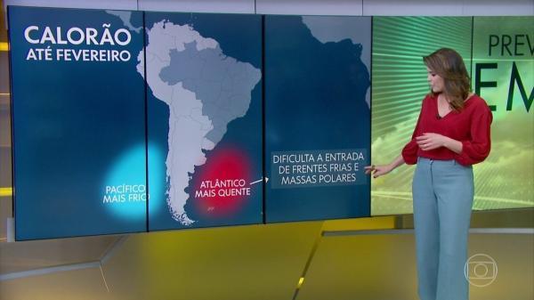 Porto Murtinho Destaque no Jornal Hoje - Cidade mais quente do país